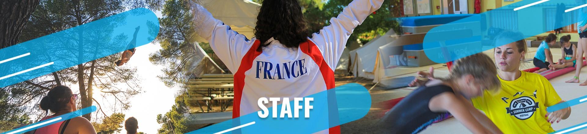bandeau staff summer camp pertuis