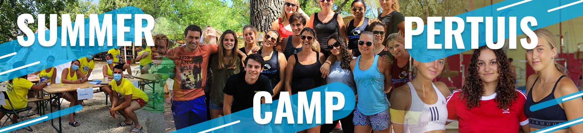 bandeau staff summer camp pertuis