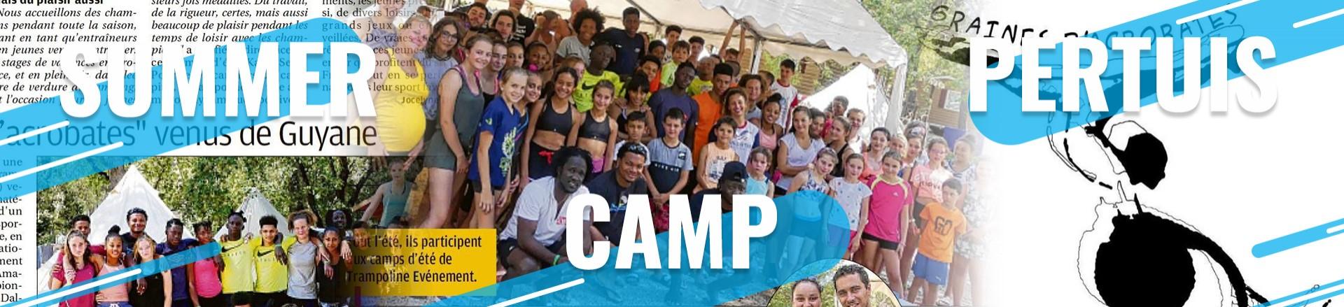 club de Guyane au Summer Camp Pertuis