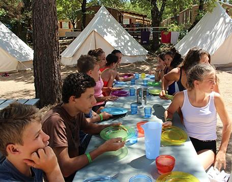 Formule pension complète Summer Camp Pertuis
