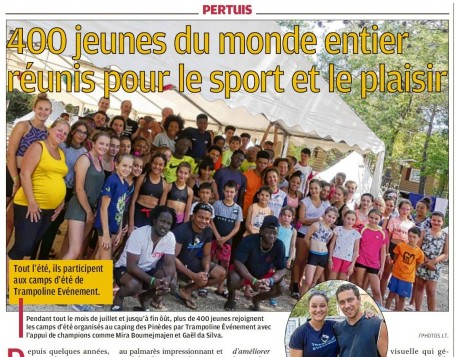 les guyanais au Summer Camp Pertuis