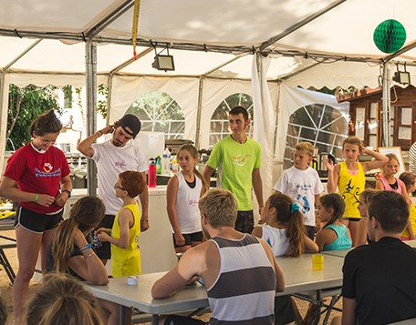 temps calmes au Summer Camp Pertuis