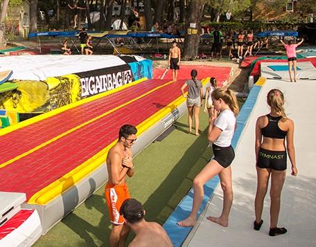 tumbling en plain air summer camp pertuis