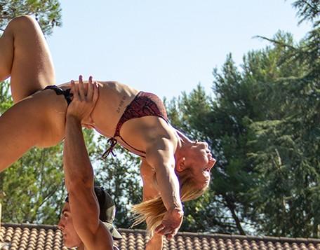 Cindy Baquet au Summer Camp Pertuis