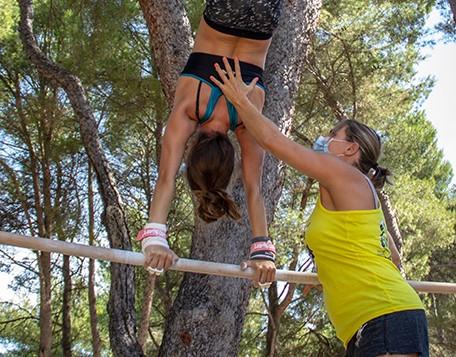 Ludivine Lecoq au Summer Camp Pertuis
