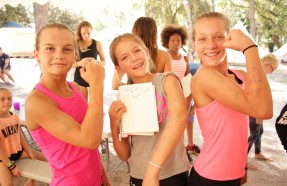gym summer camp pertuis
